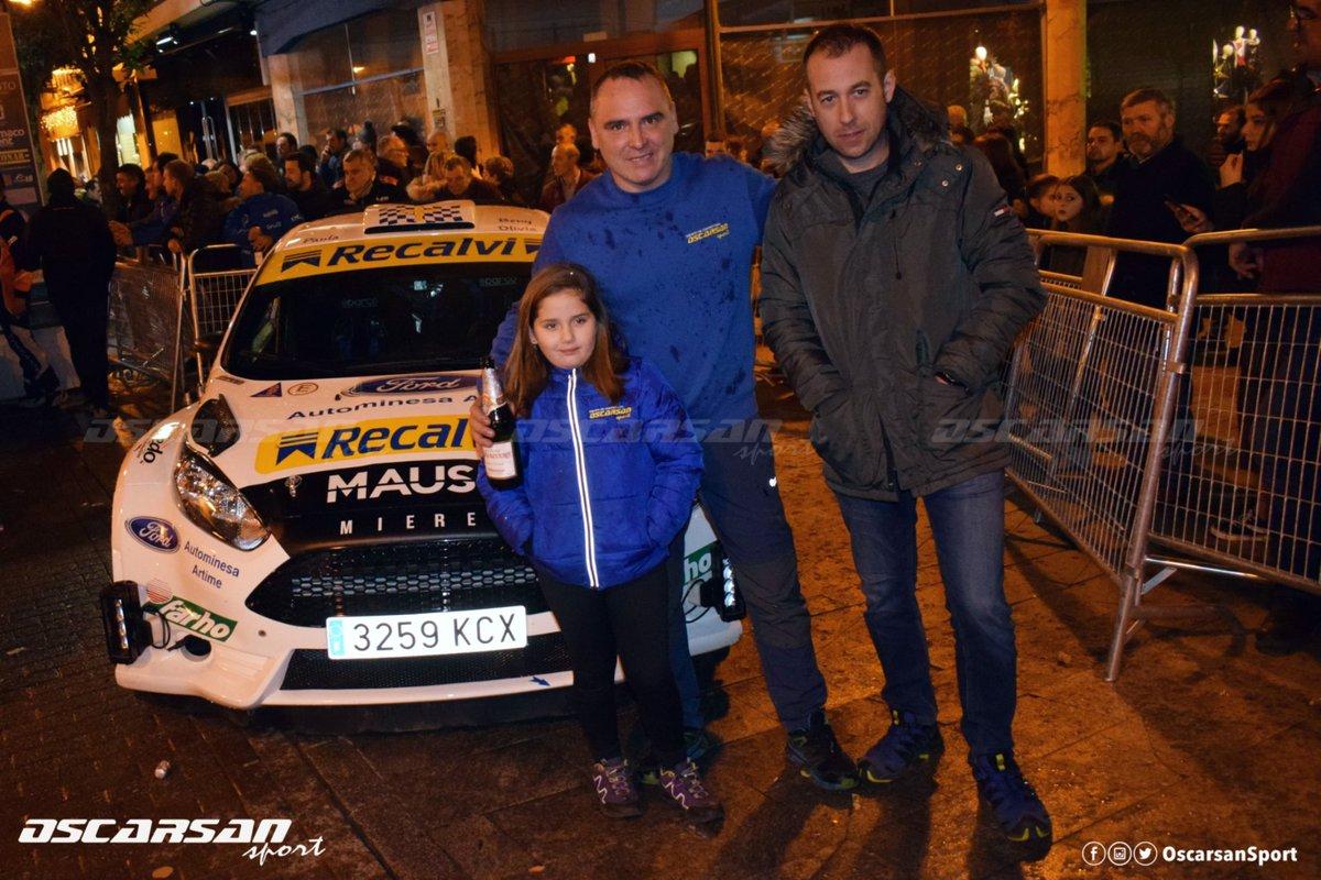 Tras un largo y duro día, damos por concluida esta 31 edición del Rally Cangas del Narcea. Un segundo puesto muy disputado y finalizando el año con el subcampeonato de Asturias de Rallyes 2019. Ahora toca ir pensando en la temporada 2020. #oscarsansport #rallycangas