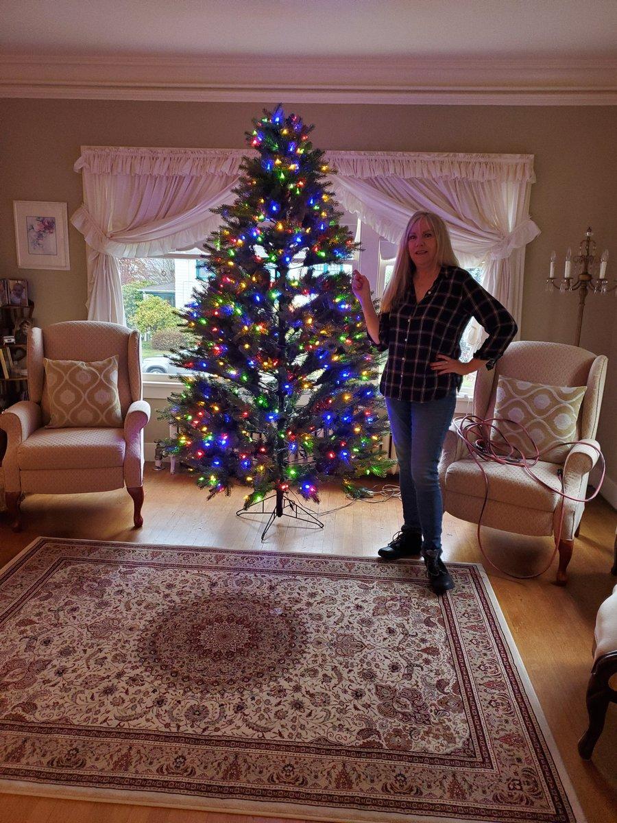 @alicetremond getting festive AF #palmerhouse #TwinPeaks #christmas