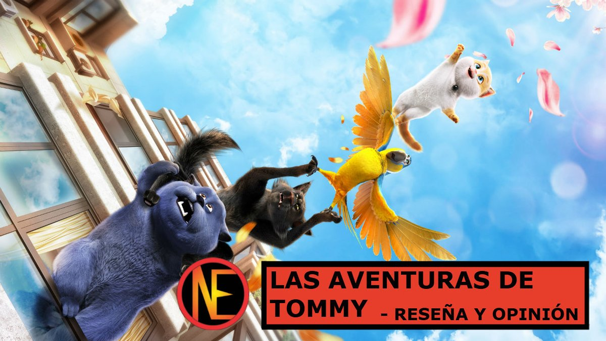 ¡En Noob Entertainment tenemos nuevo video! Reseña y opinión de #LasAventurasDeTommy   Traída por @mx_darkside  https://youtu.be/ih3PmzQXVl4   #reseña #review #YouTube  #cats #catsandpeachopia #China #animacion #animation #darkside #darksidedistribution