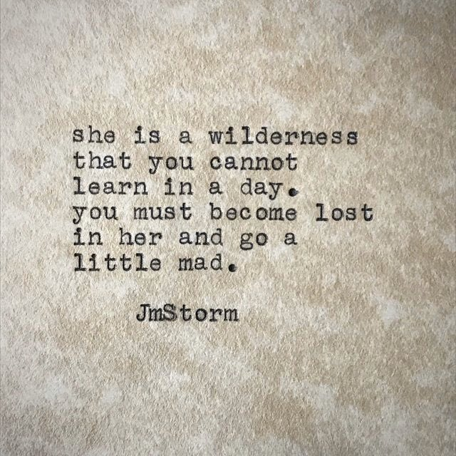 Wilderness.  In My Head volumes I and II are available through Amazon. #JmStorm<br>http://pic.twitter.com/bGLCwaqasp