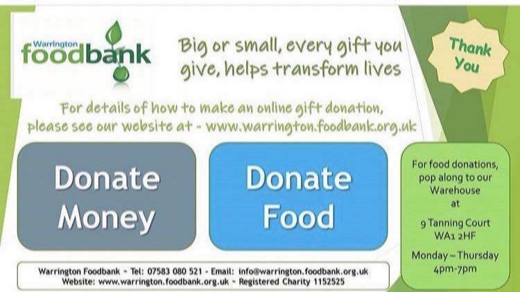 Media Tweets By Warrington Foodbank At Warringtonfb Twitter