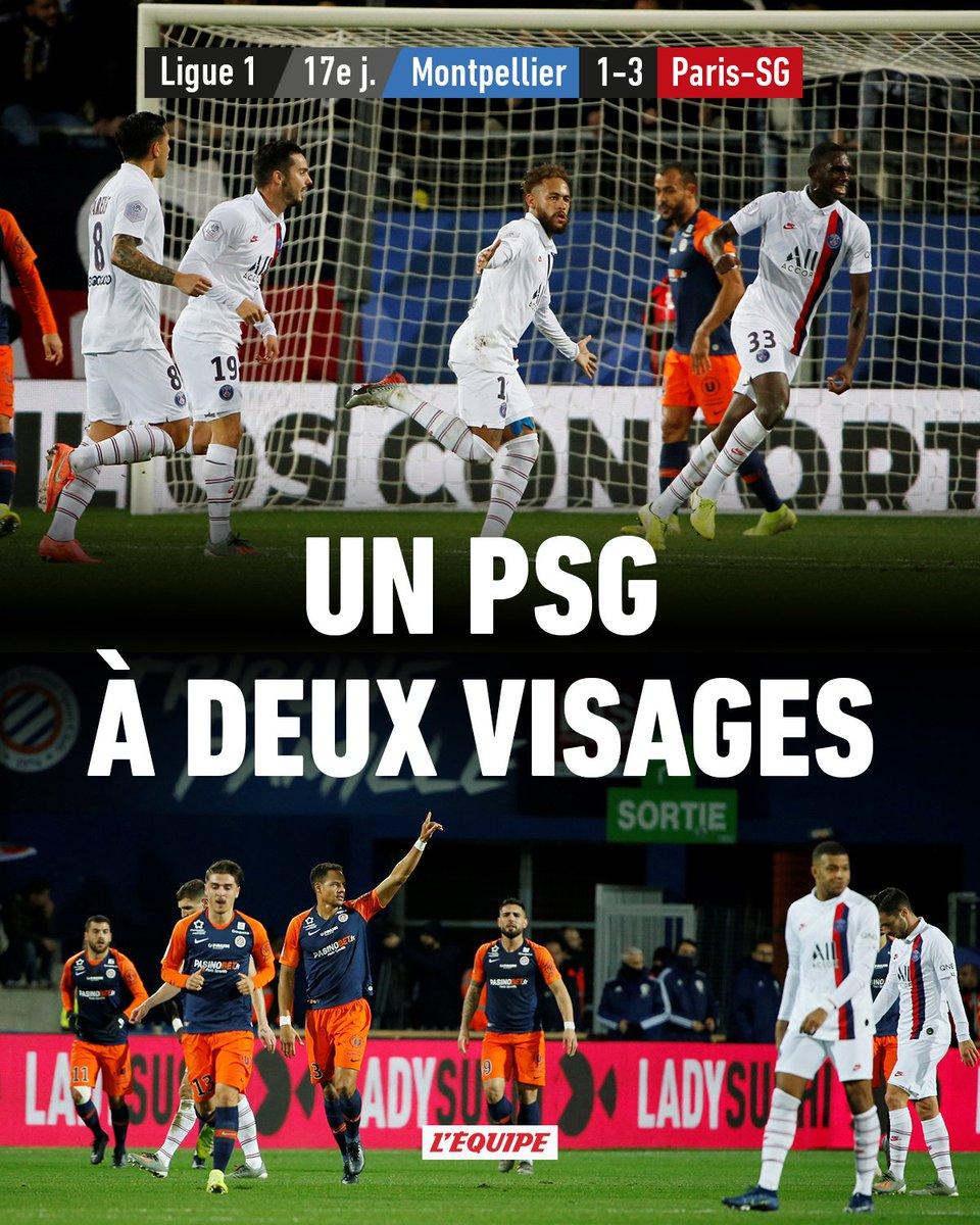 Le PSG renverse Montpellier grâce à son trio Neymar-Mbappé-Icardi > ow.ly/YM9i30pZSX4 Le classement > ow.ly/wRXS30pZSX5 #MHSCPSG