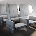 Image for the Tweet beginning: These smart airplane seats might