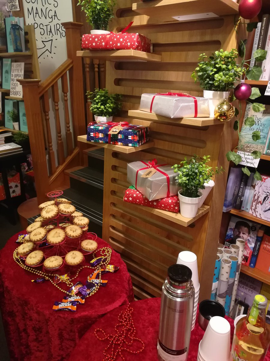 It's all here! We've got mystery gifts too 😊😊 #christmas #mulledwine #waterstones