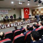 Image for the Tweet beginning: Kıymetli bakanlarımızla, #Kulalı iş insanlarımızın