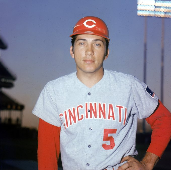 Happy birthday, Johnny Bench!   He is 1 of 4 catchers to win multiple MVPs (Berra, Campanella, Cochrane).