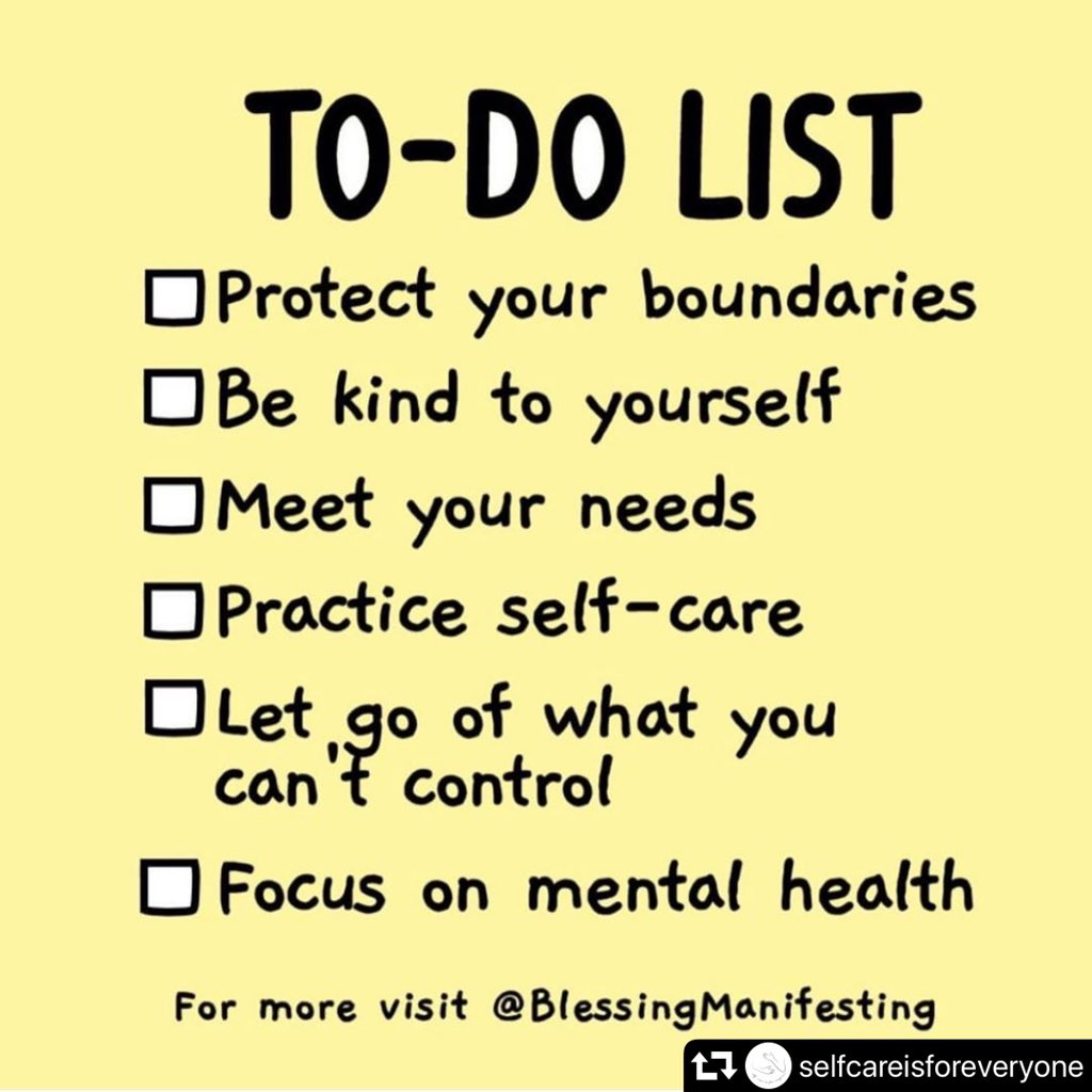 Take what you need today and work on it. Don't be afraid to spend time focusing on YOU and your needs.  #selfcare #selfcaresaturday   Repost: @selfcareisforeveryone <br>http://pic.twitter.com/uOGqsdxLta