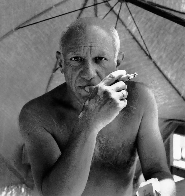 Replying to @ScozzariFrank: Learn the rules like a pro, so you can break them like an artist. —Pablo Picasso—