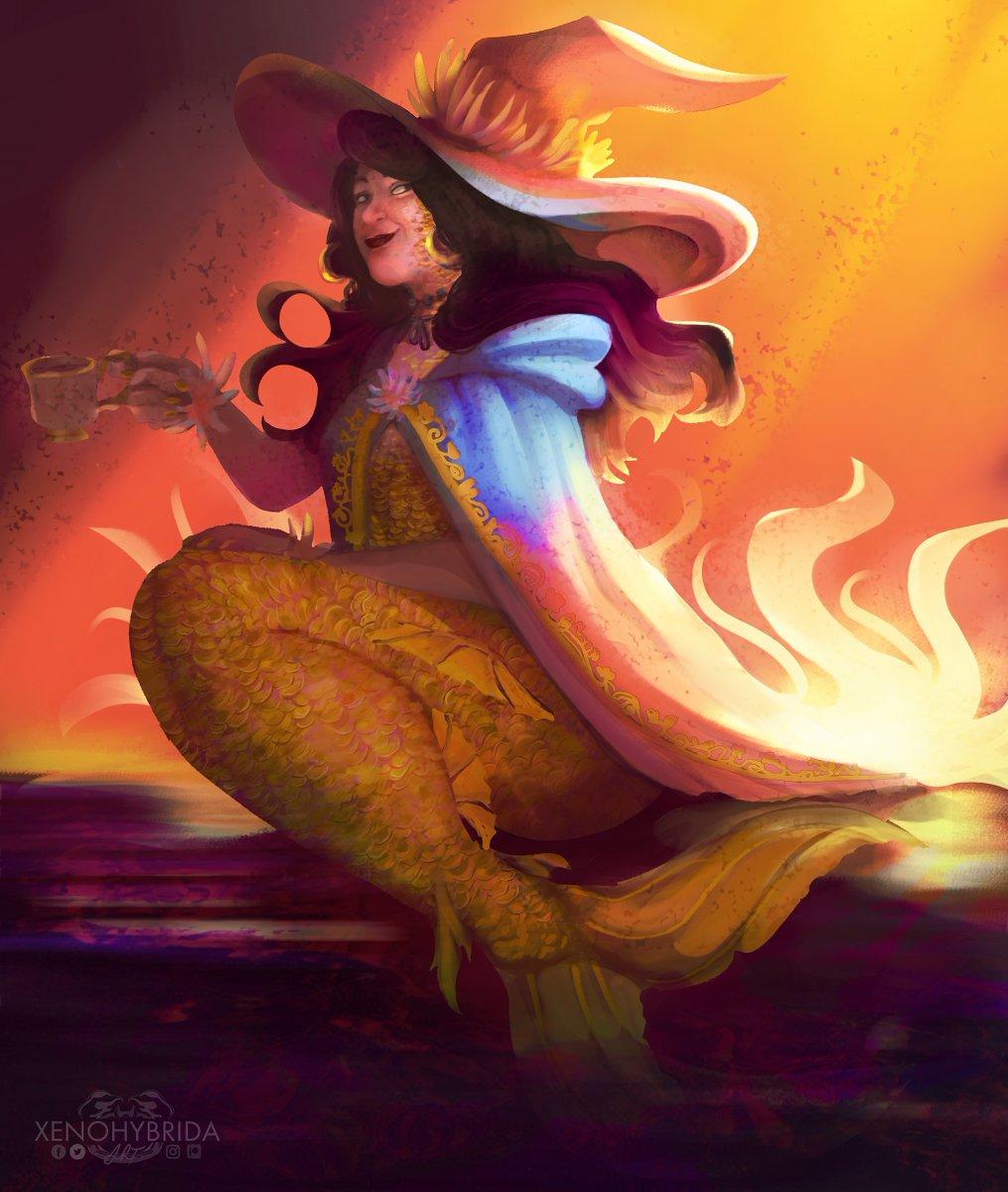 A #mermaid #sona for a close friend <3