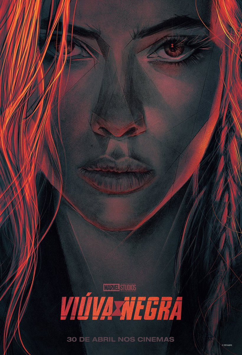 Check out the exclusive #CCXP poster for Marvel Studios #BlackWidow! See it in theaters May 1, 2020!