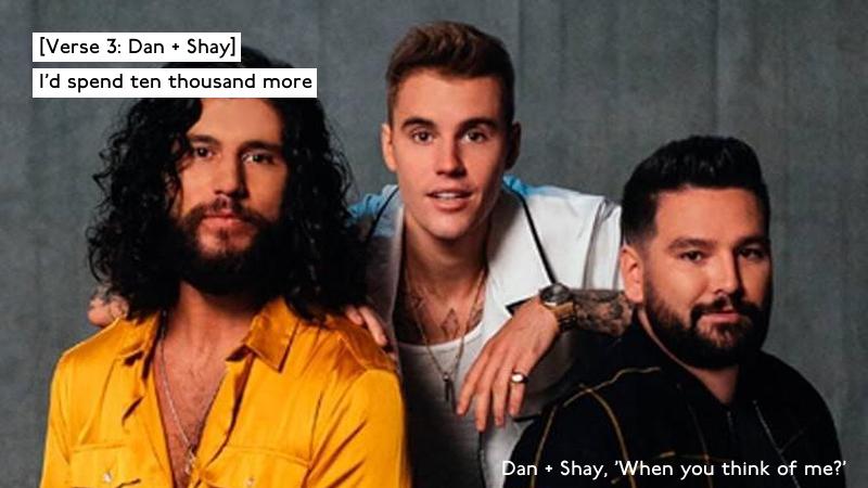 Groovy song featuring #Dan+Shay&JustinBieber