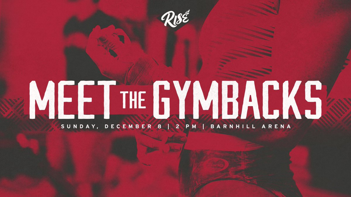 This time tomorrow! Can't wait to see you in Barnhill! #RISE<br>http://pic.twitter.com/iR87nMtXwa