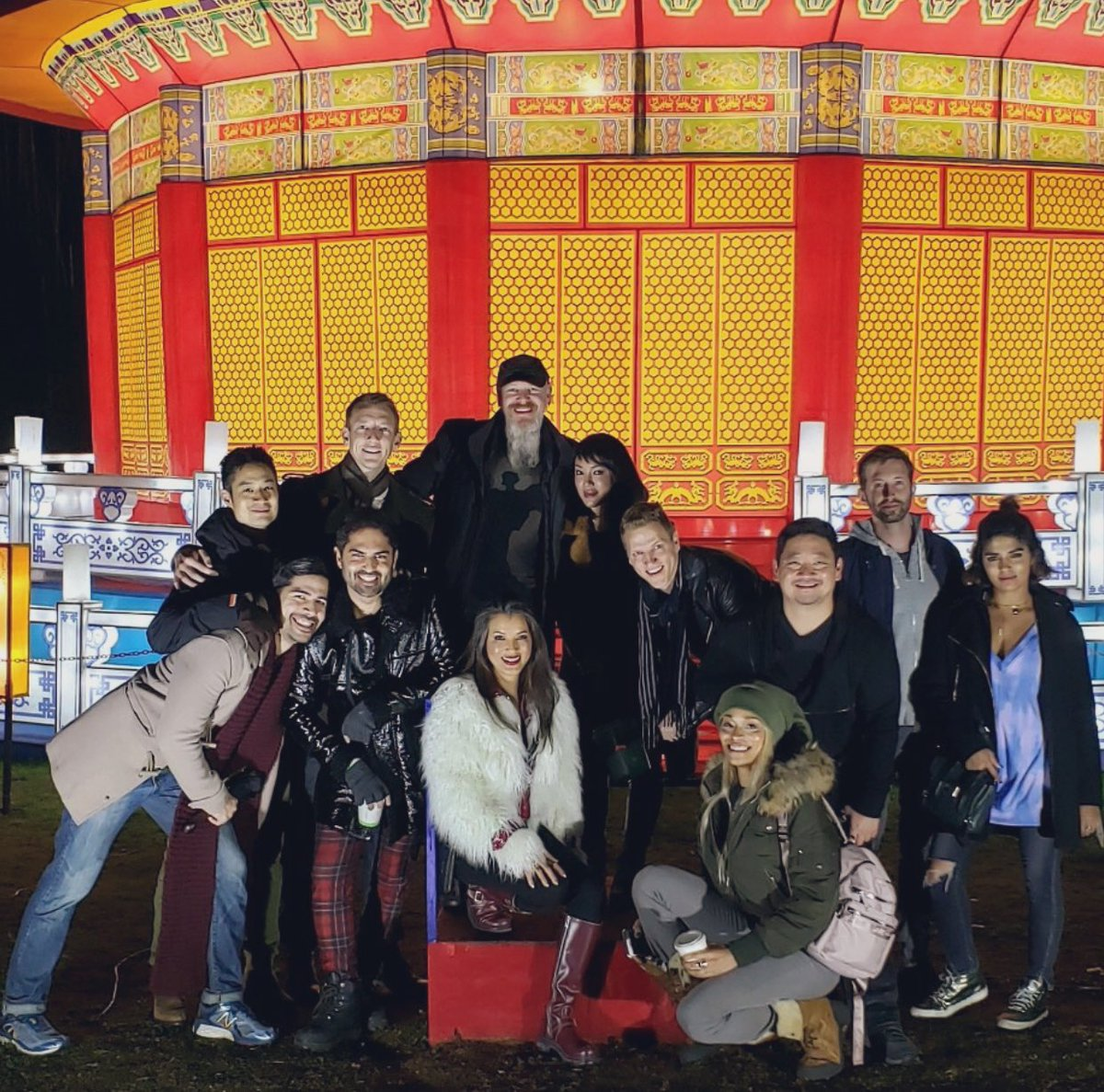 Went with my friends to the Moonlight Lantern Festival last night!!!! If you can catch it before they close up mid Jan you should 🏮🎏🐉🐲🎐