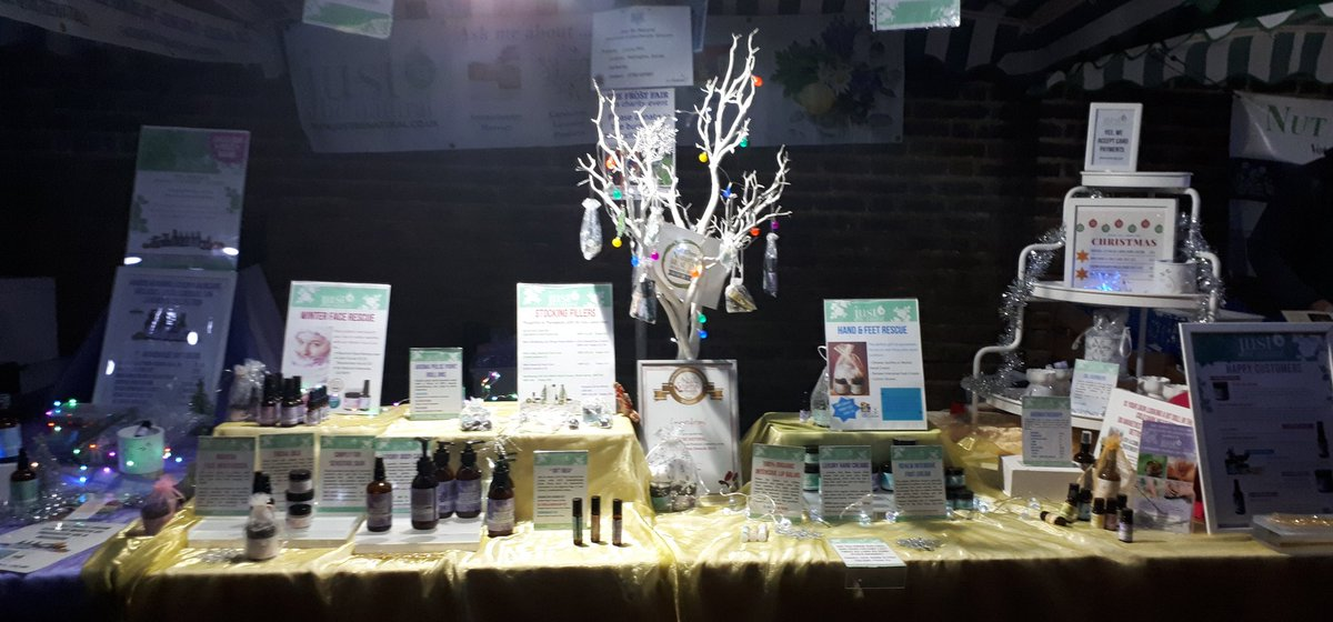 😍 HUGE THANK YOU to everyone supported my little business at @EcoLocal1 #Carshalton Frost Fair today. Amazing turn out and wonderful appreciation of the products. 🙏 Now for a glass of fizz and feet up until tomorrow!