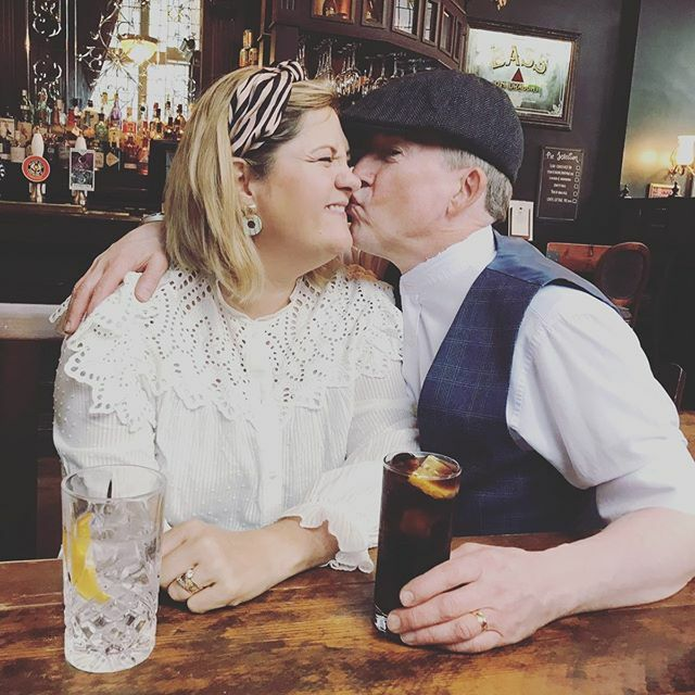 Ooh kisses. I think they should hire us for roles in Peaky Bs. We could pull it off.  @peakyblindersofficial #brummielife https://ift.tt/38gZaY5pic.twitter.com/0EBKpazCEt