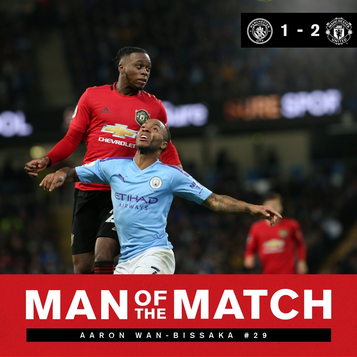 And after all, youre my Wan-derwall... 🎶 Youve voted for @AWBissaka as your #MUFC Man of the Match! 👏🕸️