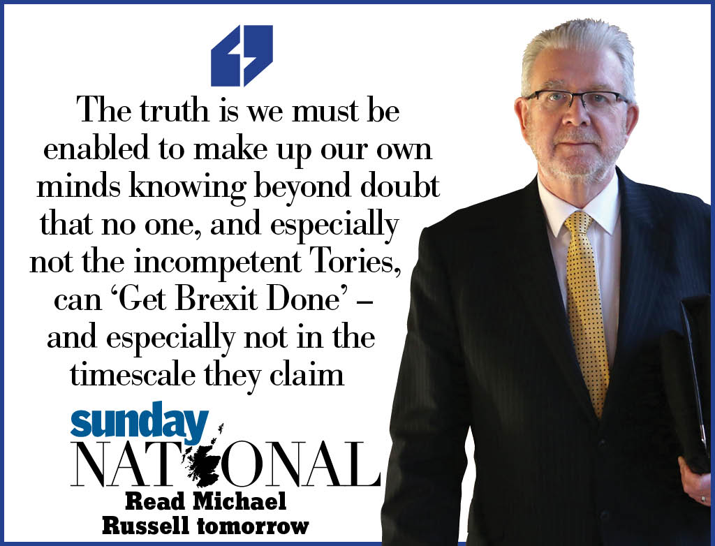 Also writing in tomorrow's Seven Days supplement: Michael Russell (@Feorlean) explains why you should vote SNP on Thursday<br>http://pic.twitter.com/hmyARB52IJ