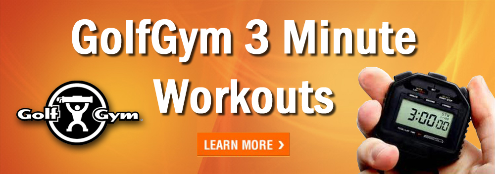3 Minutes A Day To Better Golf Performance. Are You Ready to start on this 30 day adventure into better performance on the golf course?  These 3 minute workouts are simple, easy and ONLY 3 MINUTES LONG!  FUN!   https:// golfgym.com/3minutesaday/    <br>http://pic.twitter.com/5hA2jEJ8yK