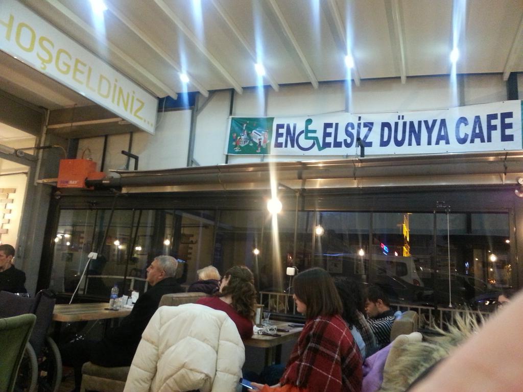Birgün değil hergün... Engelsiz bir dünya için  Dezavantajlı bireyler için elele #Ankara  #ENGELSİZDÜNYACAFE