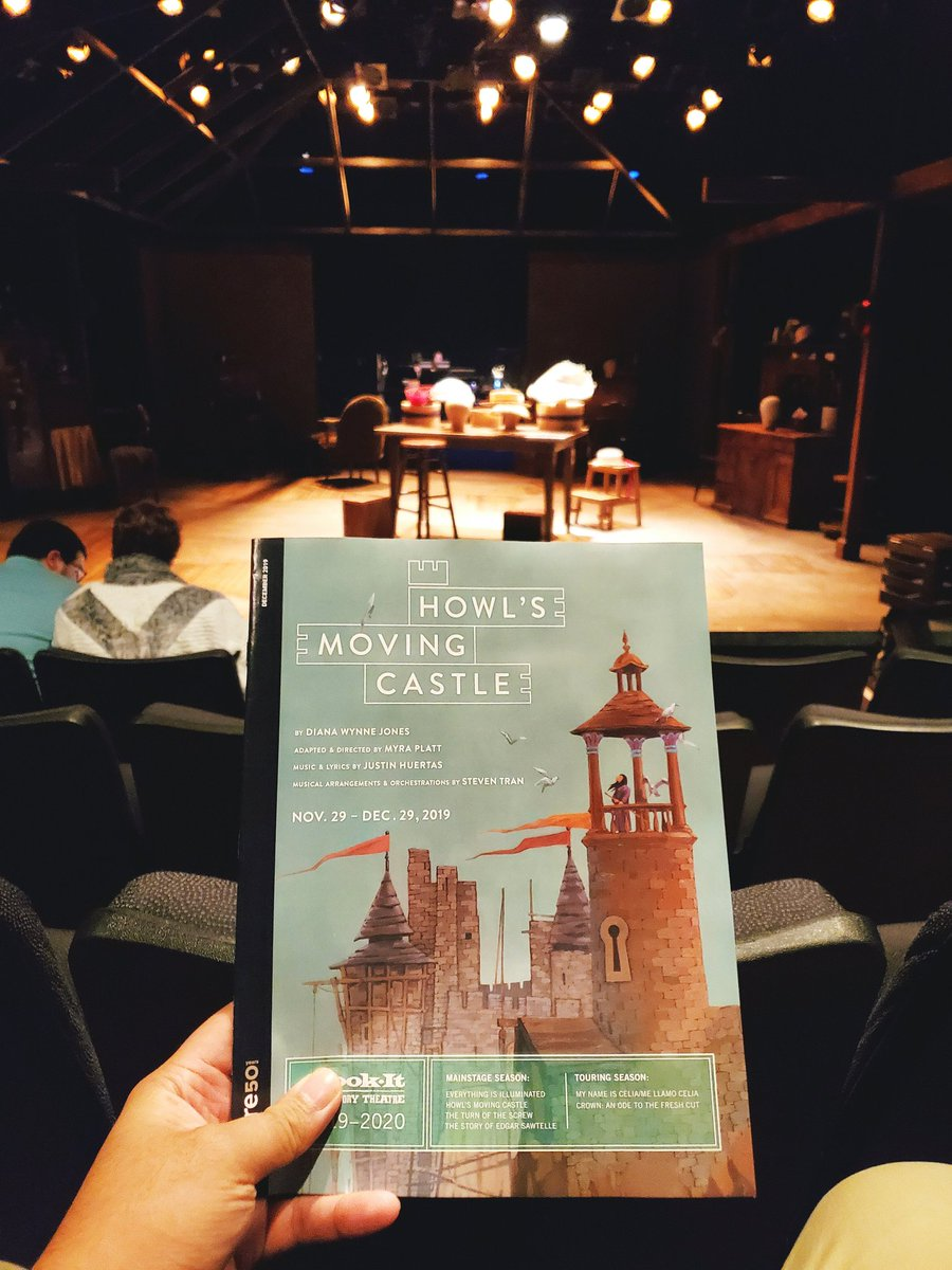 """Howl's Moving #Castle"" #musical w/ @Book_It. Quality better than the original 2017 production. Probably would have enjoyed it much more if I saw the book or movie. – at Book-It Repertory Theatre"
