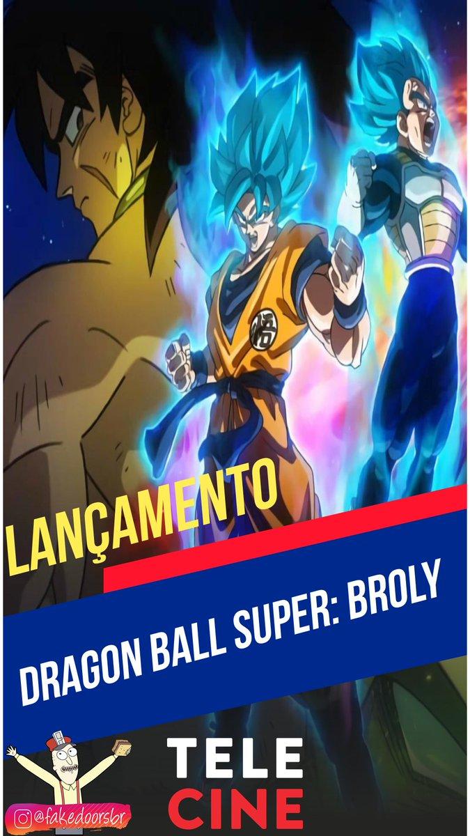 Lançamento - Telecine   Dragon Ball Super: Broly (2018)   . #fakedoorsbr #filme #cinemaepipoca #amofilmes #dicasdefilmes #telecinepic.twitter.com/DKu4yrpT2n