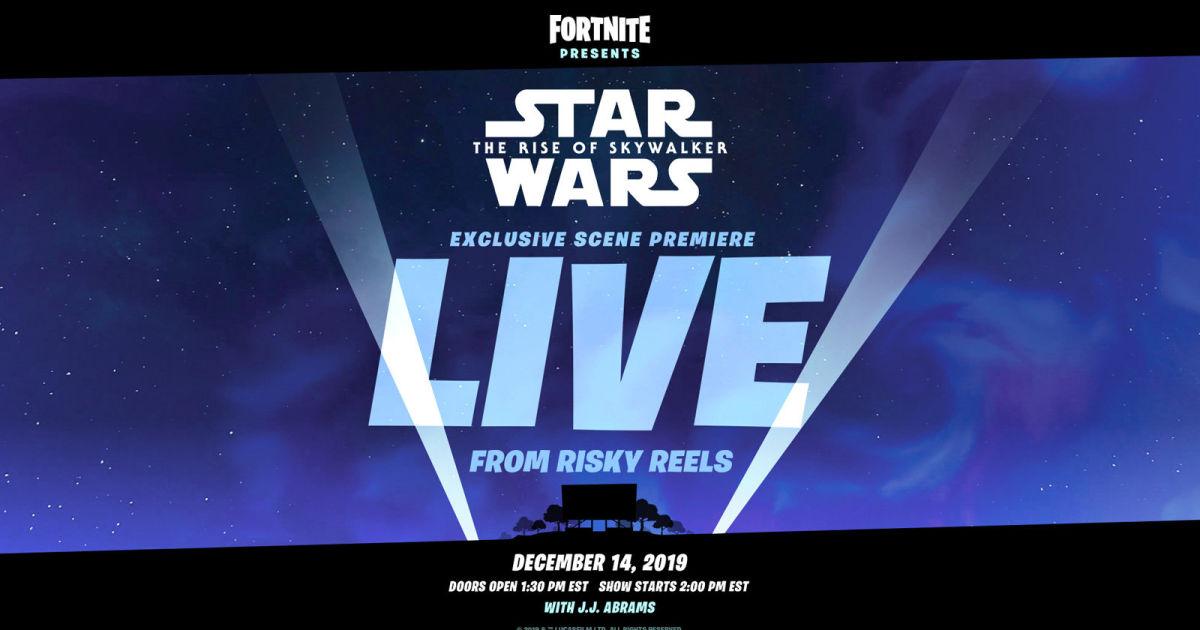 'Fortnite' will premiere a 'Star Wars' scene with J.J. Abrams' help