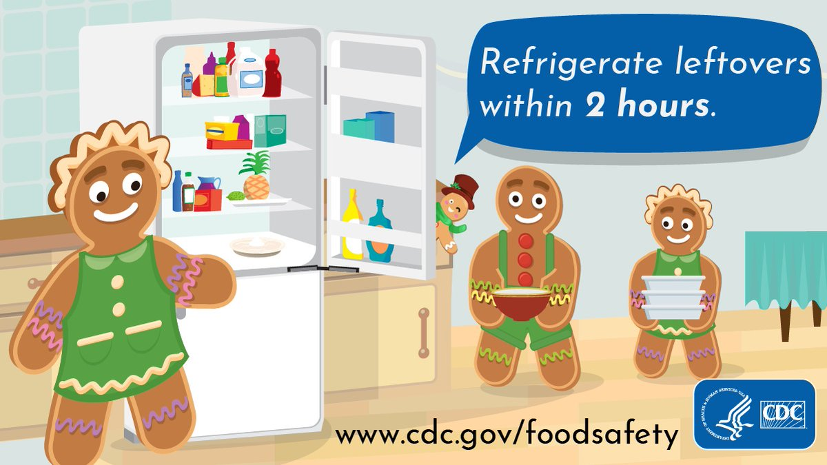 test Twitter Media - Don't miss holiday parties because of food poisoning! Cook meat to the recommended temperature to kill germs and refrigerate leftovers within 2 hours of cooking. Find the recommended temperatures for each meat: https://t.co/9aby6lxAjr. https://t.co/5Kpg1ATltL