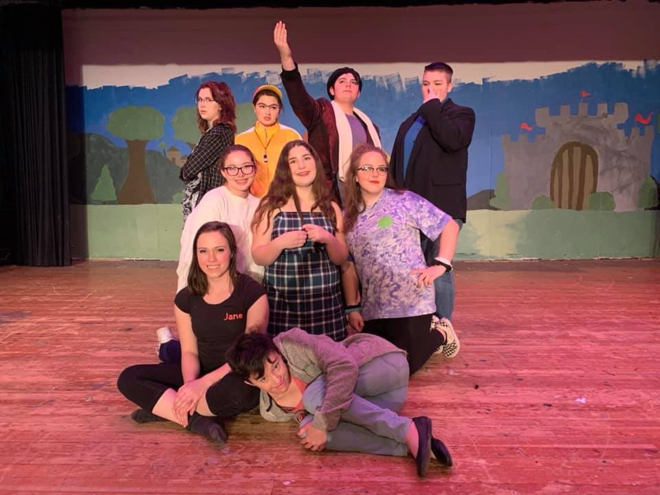 Thanks to everyone who came out to see #A2Actastrophe! We'll see you in March for #shrekthemusical! #dphsdrama #spencerarts #theatrenerds @telegramdotcom @TheCitizenChron @SpencerLeader<br>http://pic.twitter.com/gGSvsgWTKl