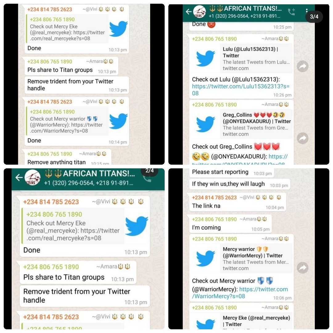 I was here wondering why Mercy's Twitter account is moving so slow.. These jobless fools are busy reporting her account. Are you not mad like this? What exactly do you want from #MercyEke? She's the winner today and forever.. Deal with it fools. #BBNaija #MercyXTiwaSavageConcert <br>http://pic.twitter.com/JhG6d5LTel