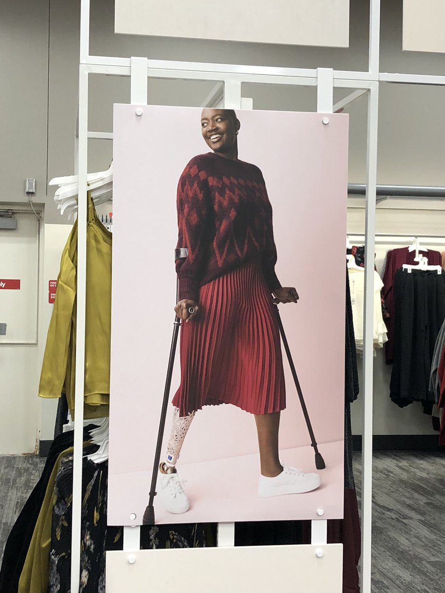 Oh hey inclusive advertising 😎 @Target #beautiful #inclusion #access