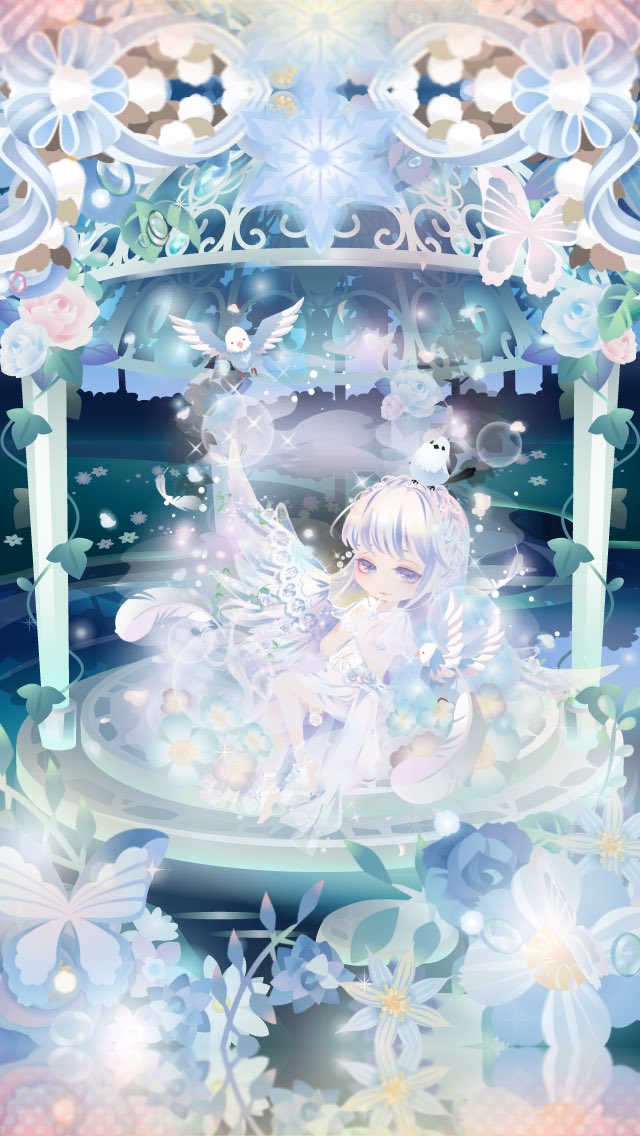 #CocoPPaPlay #beautiful #white #soft #blue #shine
