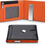 Image for the Tweet beginning: Wilbest RFID blocking wallet moneyclip