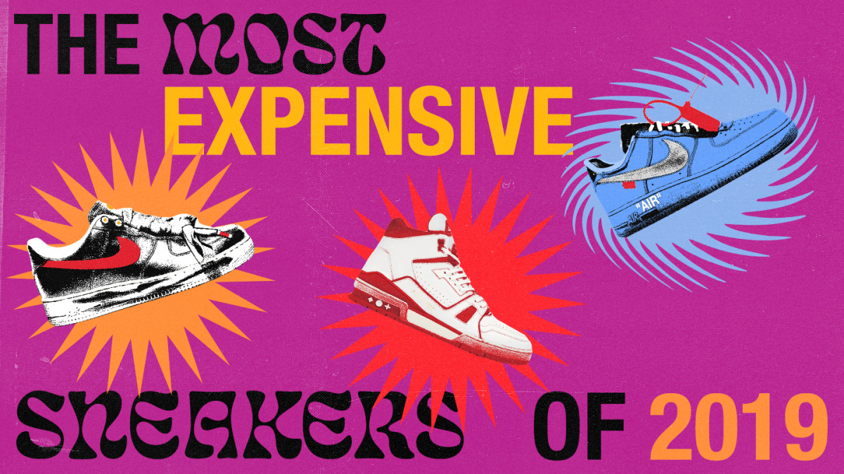 In 2019, a sneaker's worth is literally based off its value on the secondary market. Heres the most expensive sneakers of the year: cmplx.co/Ys6FdlH
