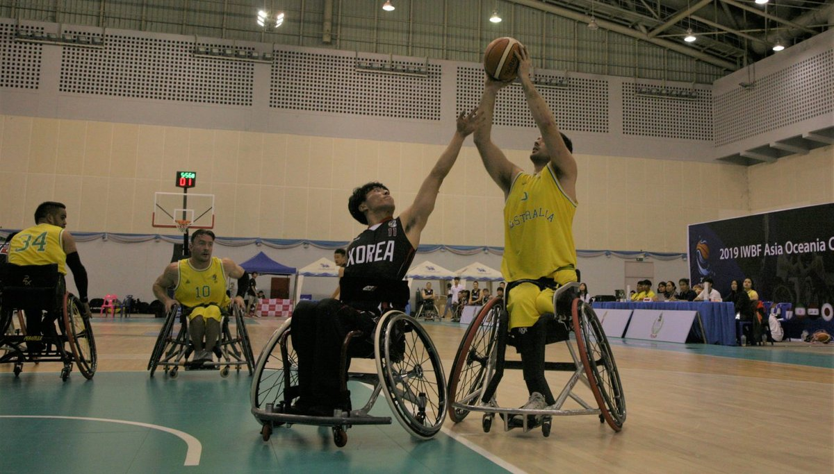 It has been an incredibly successful week for the Australian wheelchair teams with the Rollers winning gold at the AOZ Championships and securing themselves a spot at the Tokyo 2020 Paralympics. 🥇  DETAILS: http://bit.ly/RollersWinGold   #basketball #WeAreBasketball #AOZChampionships