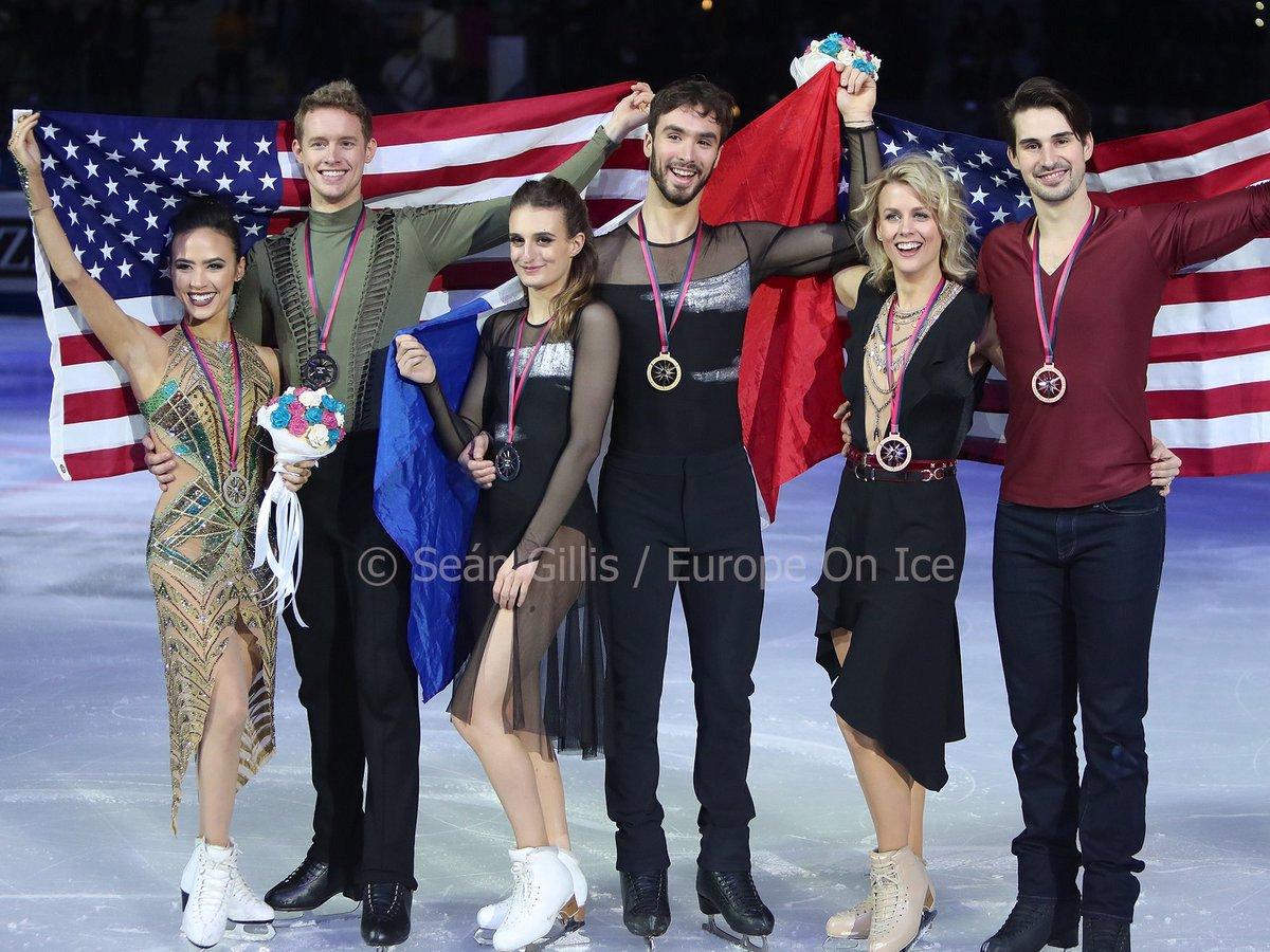 2019 Grand Prix Final-Ice Dance Congratulations to All!  #GPFTurin2019 #JGPFigure #GPFigure #NitaSports #FigureSkating #Skating  G. Gabriella Papadakis/Guillaume Cizeron FRA - 219.85  S. Madison Chock/Evan Bates USA - 210.68  B. Madison Hubbell/Zachary Donohue USA - 207.93 <br>http://pic.twitter.com/b1I7qxJo4U