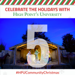 There will be a life-sized Nativity scene at #HPUCommunityChristmas! Come have your photo taken as we celebrate what Christmas is all about! 💜 #HPUTraditions