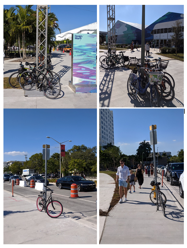 .@TheMiamiBeachCC Why is there no bike parking at @ArtBasel and @DesignMiami? <br>http://pic.twitter.com/Z7TOPAmvm8