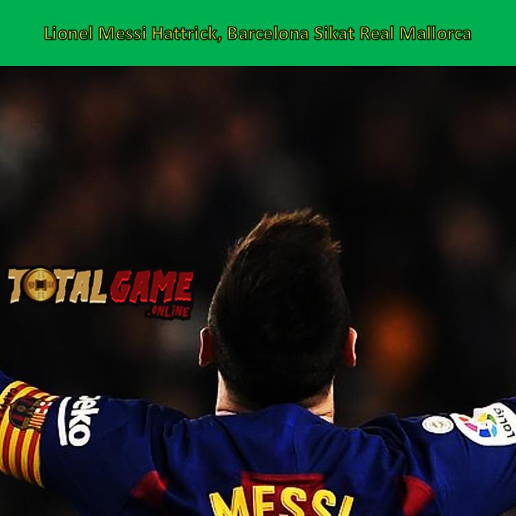Bintang Barcelona, Lionel Messi menandai prestasi memenangkan Ballon d'Or 2019 dengan istimewa. Dia mencetak hattrick ke gawang Real Mallorca pada laga La Liga di Camp Nou, Minggu (8/12/2019) dini hari WIB. #Barcelona #LionelMessi #BallonDor #laligaxwin #LaLigaFoxPremium