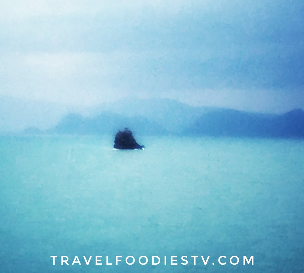 Incredibly #gorgeous and #surreal! We are entering the azure #waters #Andaman #Sea of #Thailand #Asia #travel #luxurytravel #luxury #love #adventure #regentcruises #Sponsored