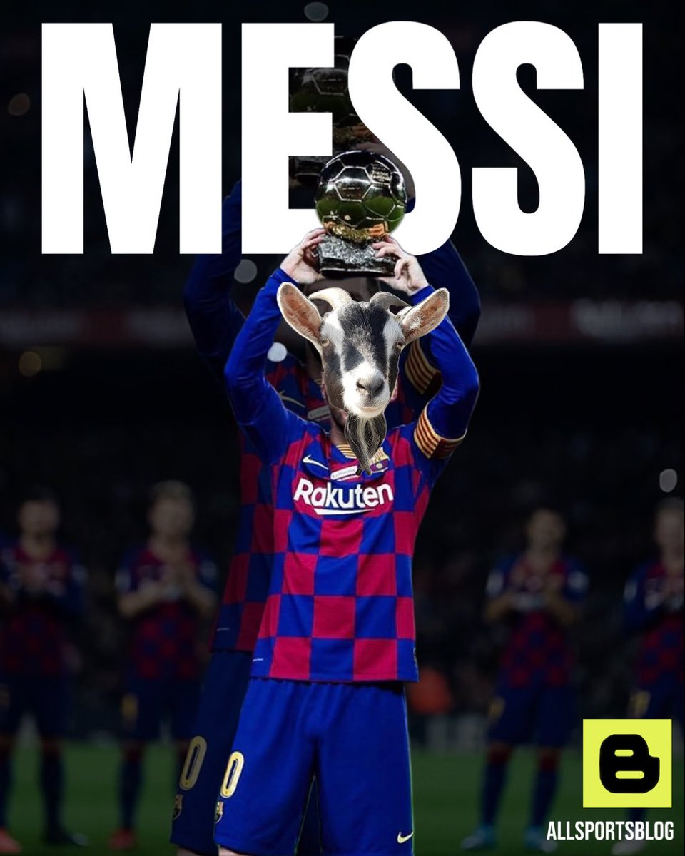 First or Second? 📷 🐐 - #allsportsblog #football #soccer #futbol #barcelona #lionelmessi #messi #ballondor