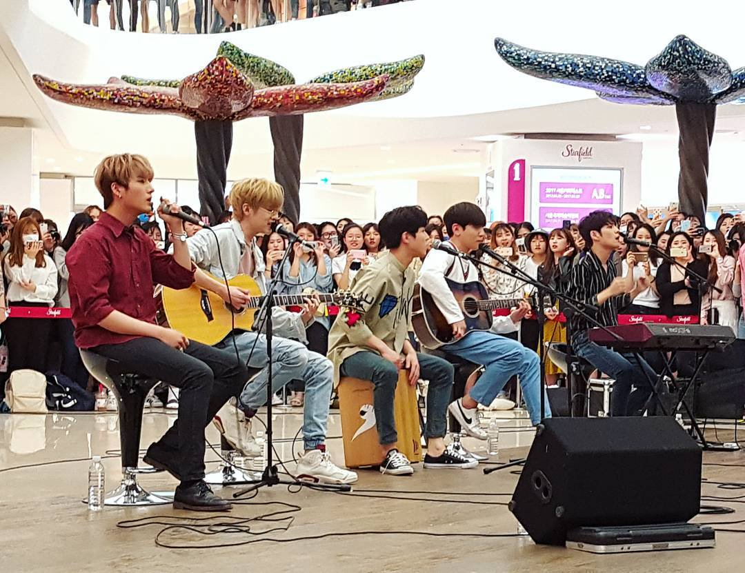 From 5LIVE to DAY6. From underrated to one of the most apprecciated groups. From busking to world tours. From DAY6 fans to MyDays.  You've come a long way, DAY6! Let us stand with you all the time and celebrate through your ups and downs. Remember, are each other's reasons. <br>http://pic.twitter.com/gnluiCw0WU