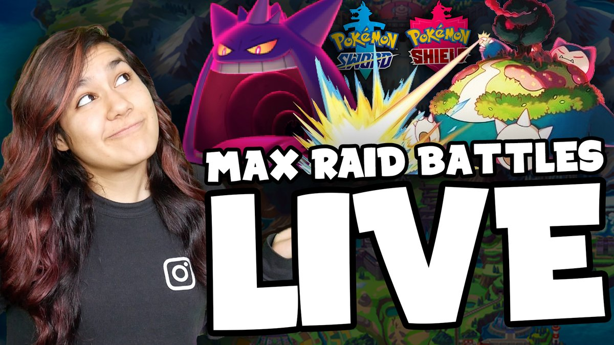 Another #PokemonSwordShield Max Raid Battles Live Stream TOMORROW (Sunday 12/8) at 2pm EST! youtu.be/GyXz00ck9wc
