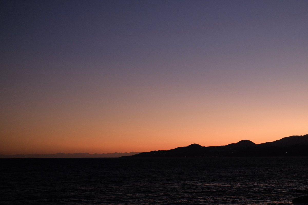 #海 #sea #初島  #夕焼け  #夕焼け空 #sunset