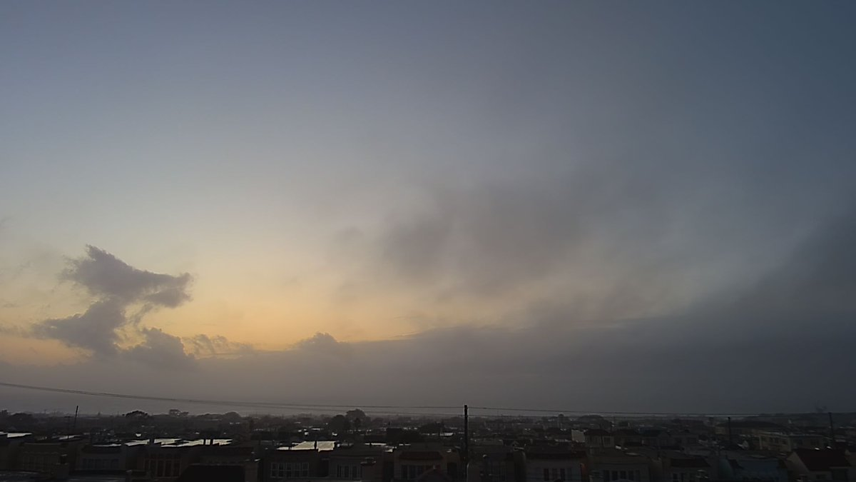 Today's Sunset in the Outer Sunset, San Francisco, California, USA. #sunset #sf #oceanbeach License: CC BY 4.0