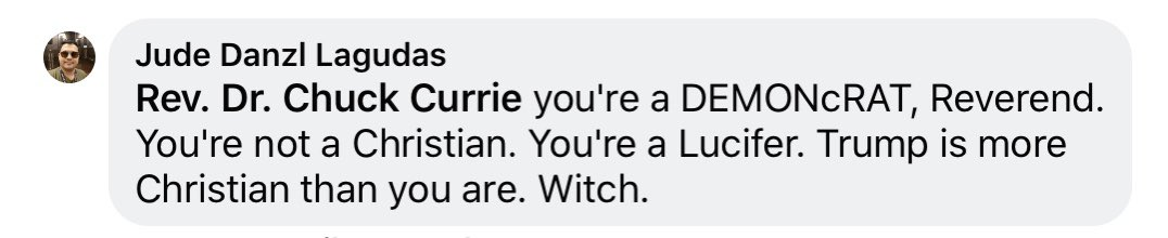 I'm trying to remember if anyone has ever called me a witch before? It's very 1692. I guess that's what Donald Trump means when he says #MAGA.  <br>http://pic.twitter.com/mTVswD06nz