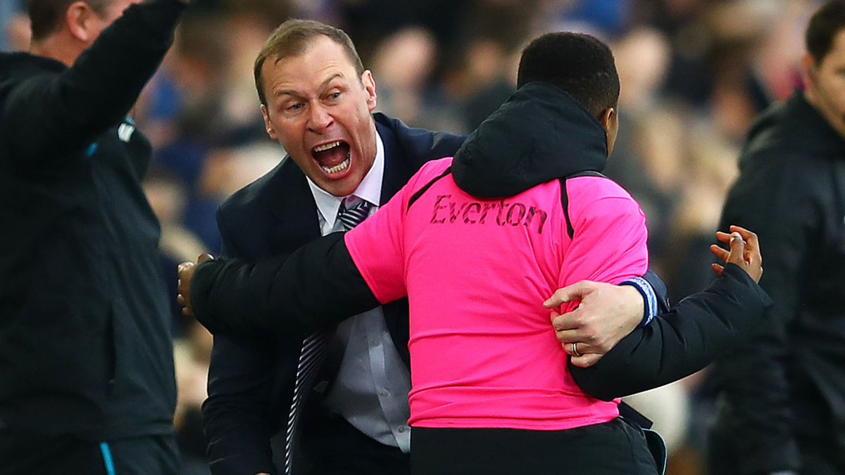 Duncan Ferguson in tears after Everton stun Chelsea #COYB fanly.link/448b452f09