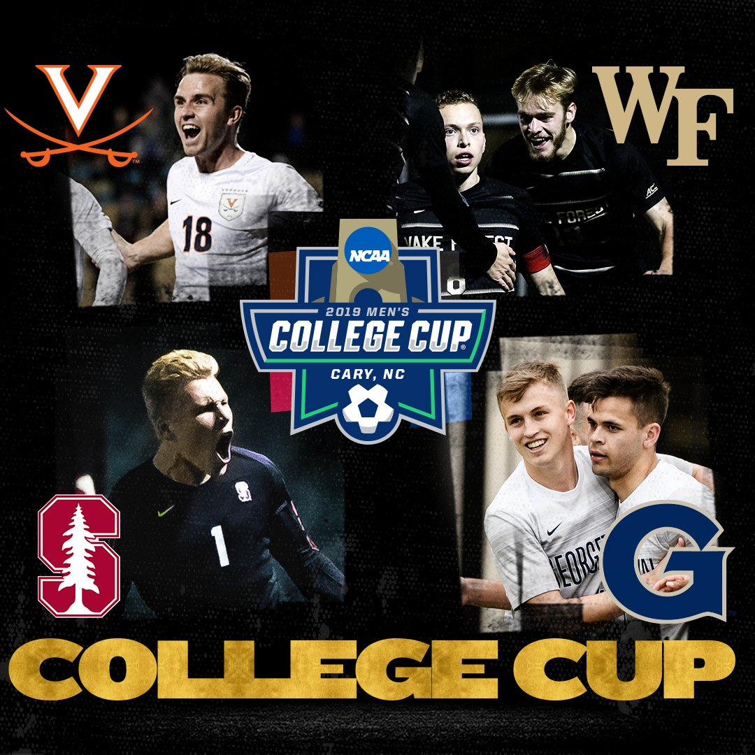 Virginia Wake Forest Stanford Georgetown NCAA Tournament College Cup 2019