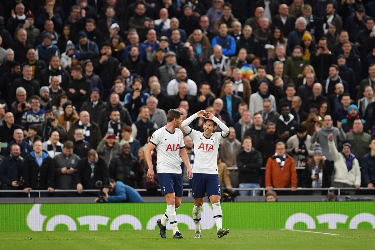 ❤️❤️❤️ Son Heung-min has been directly involved in 1️⃣5️⃣ goals in his 1️⃣5️⃣ apps at the Tottenham Hotspur Stadium in all competitions (9 goals, 6 assists) #TOTBUR