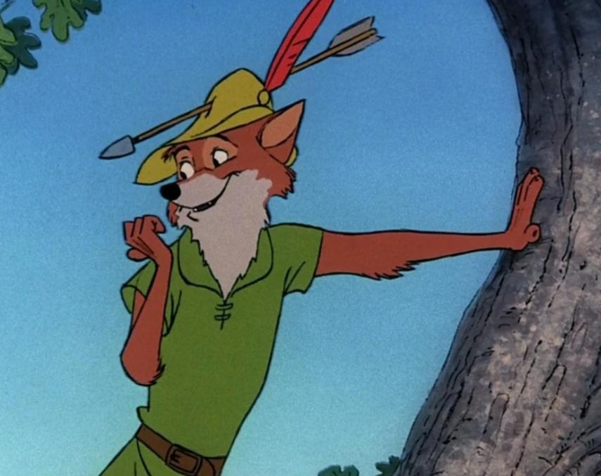 Today's furry character of the day is... Robin Hood! <br>http://pic.twitter.com/as87y4zedi