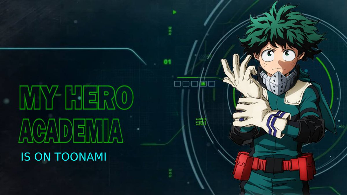 Replying to @AnimeWithRJ: An All New #MyHeroAcademia Starts Now! On #Toonami